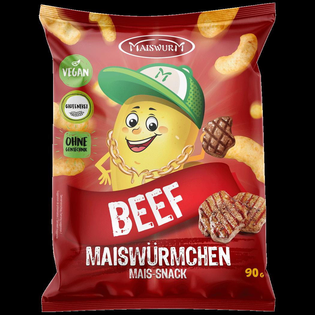 MAISWÜRMCHEN BEEF 90g