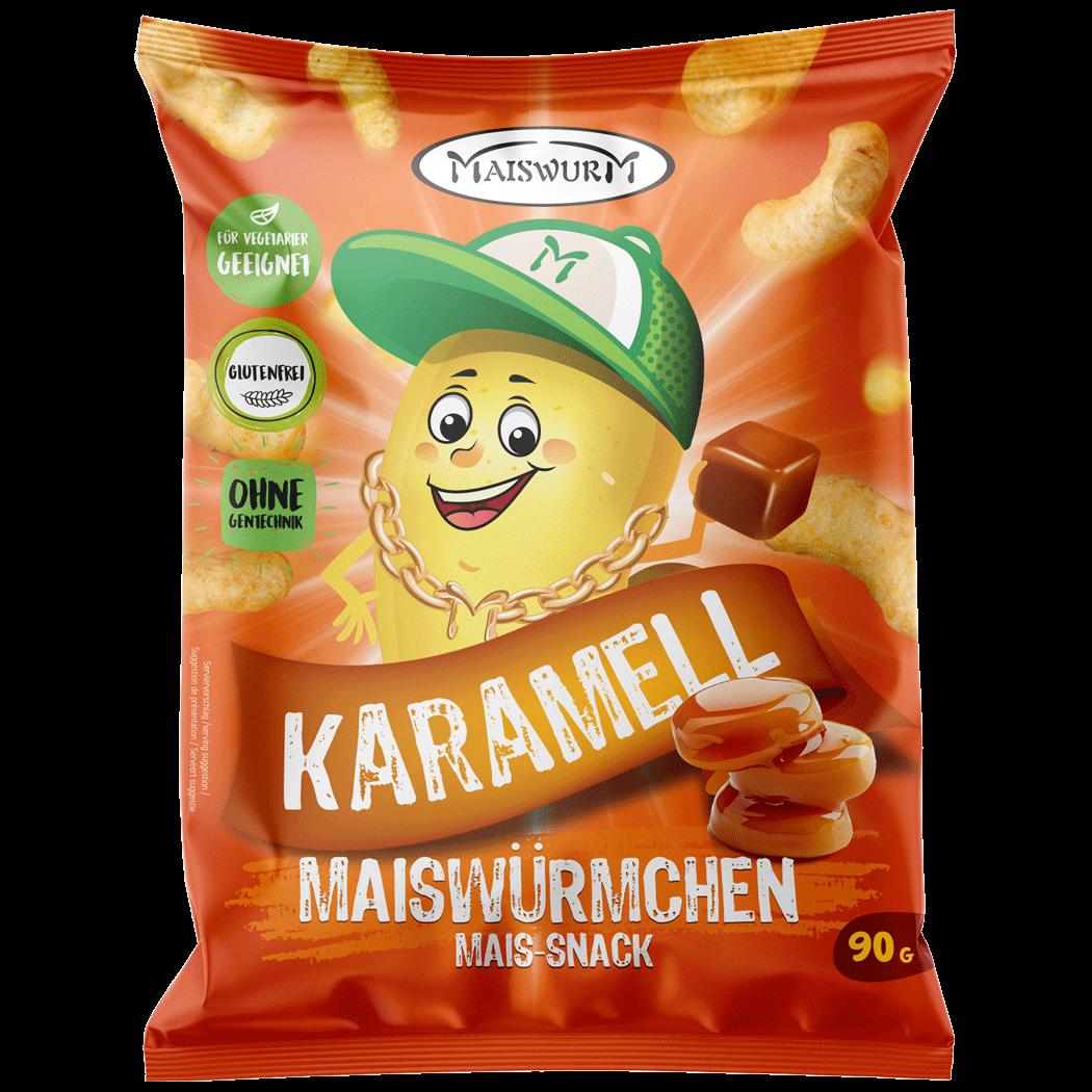 MAISWÜRMCHEN KARAMELL 90g